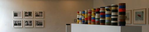 Diplopie - Werke aus der Sammlung Ivo Wessel /Ausstellungsraum Foto ®Ulf Engelmayer