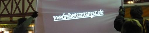 250 Teilnehmer in Göttingen ®www.vorrratsspeicherung.de