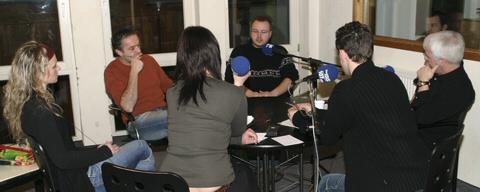 Diskussionsrunde zur Razzia bei der Heaven & Hell VIII Foto® Goloci