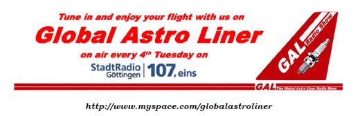 Global Astroliner - das Magazin für zeitgemässe Beats